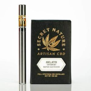 secret-nature-cbd-gelato-0.5g-vape-pen-cartridge