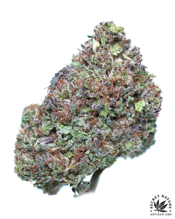 Secret Nature Secret OG - 17.2% CBD, 19.4% Total Cannabinoids, Creamy, Gas, Earthy, Indica, Relax, Greenhouse Grown 3.5g from Secret Nature