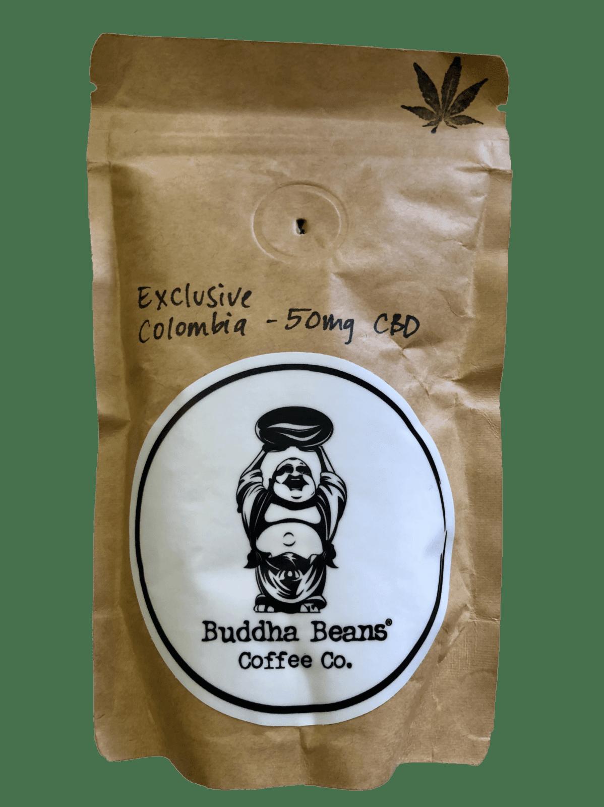 BUDDHA BEANS CBD INFUSED COFFEE 150mg CBD 6oz.