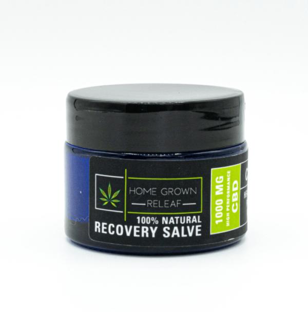 Home Grown Releaf   Super Strength Recovery Salve 1000mg CBD 2 oz.