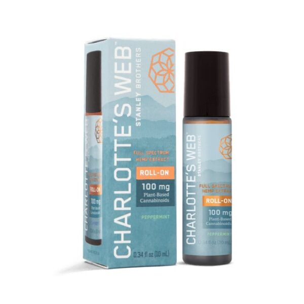Charlotte's Web | 100MG CBD MENTHOL RELIEF ROLL-ON