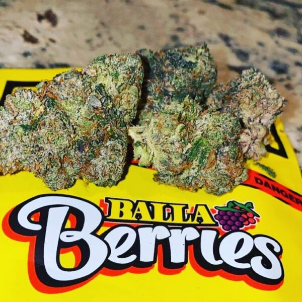 Gas House | Balla Berries - 17.5% CBD, Indica - Rest, Tropical, Sweet, Berry, Greenhouse Grown 3.5g