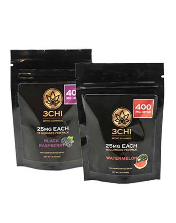 3Chi   Delta 8 THC Gummies   400mg 16 ct.