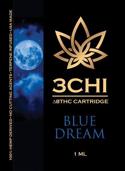 3Chi | Delta 8 THC Vape Cartridge 15+ Flavors