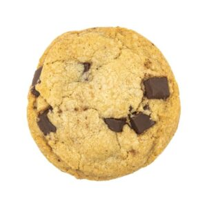 3 chi chocolate chip cookie
